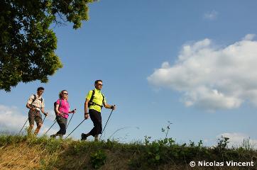La marche nordique en Haute-Loire