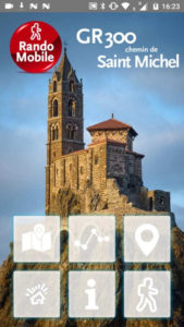 chemin de saint michel application randomobile