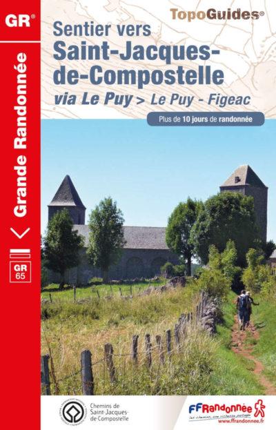 Le TopoGuide du Puy-en-Velay jusqu'à Conques Figeac