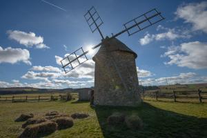 Randonnée Alti'Ligérienne - les moulins à vent d'Ally