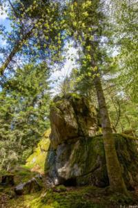 TopoGuide de la Chaise Dieu, la roche Martine
