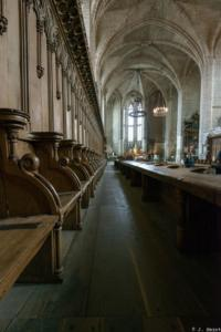 TopoGuide La Chaise Dieu-Intérieur de la basilique