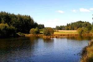 Lac à Beaune sur Arzon