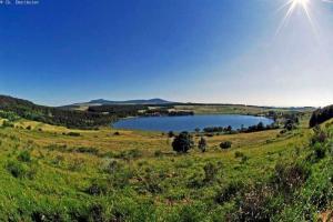 chemin de saint regis GR 430 - le lac de saint front