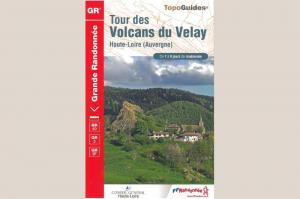 topoguide du tour des volcans du velay GR 40 couverture