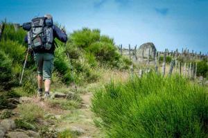 chemin de compostelle GR 65 - pelerins randonneur