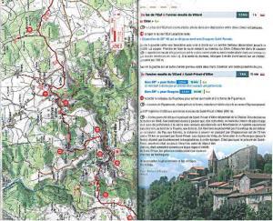 topoguide chemin de compostelle GR 65 carte IGN