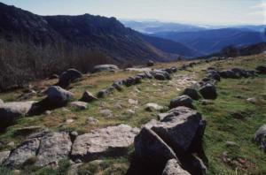 chemin-de-regordane-gr 700-vue sur les cévennes