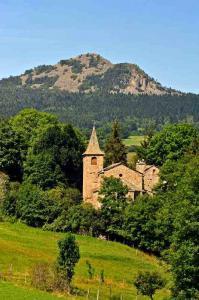 Haut Lignon, entre massif du Meygal et plateaux d'Ardèche