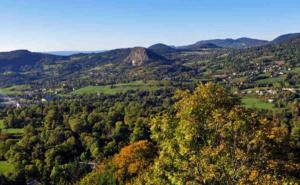 Pays des sucs et du meygal - vue depuis le suc de chapteuil- Ch Bertholet