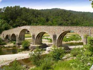 chemin de stevenson GR 70 - pont de saint jean du gard