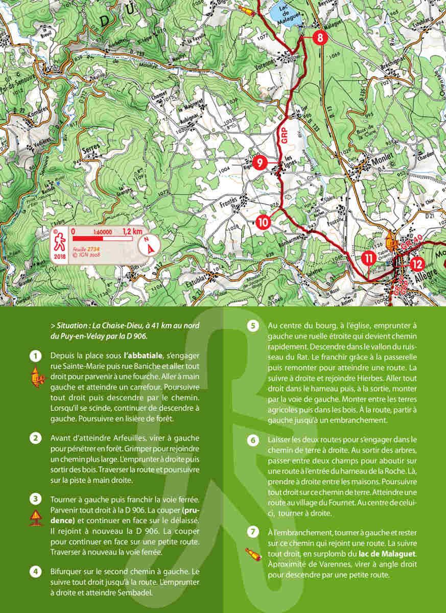 Itinérance entre la Chaise-Dieu et le Puy-en-Velay - Randonnez en