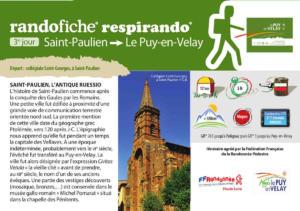 randofiche Saint Paulien Le Puy-en-Velay