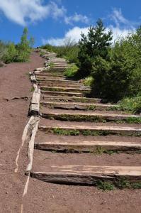 Brasse Valérie montée des marche Puy de Dôme